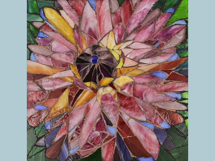 Piece Of Mind Mosaics Custom Tiled Artwork By Amy Bruckner Mosaic Tiles Original Mosaic Designs Tile Art
